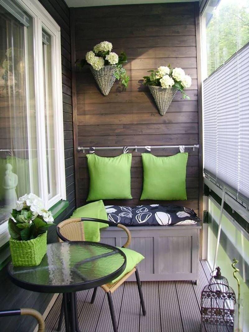 Küçük Balkon için Dekorasyon Önerileri