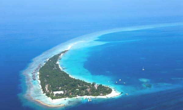 Kuramathi adası maldivler