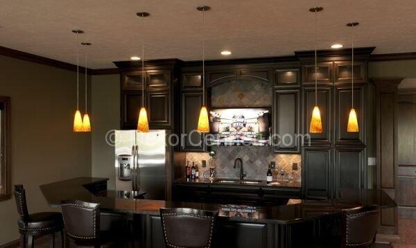 lüks mutfak dekorasyonu