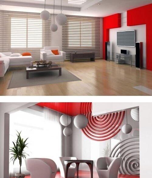 lüks salon dekorasyon örnekleri