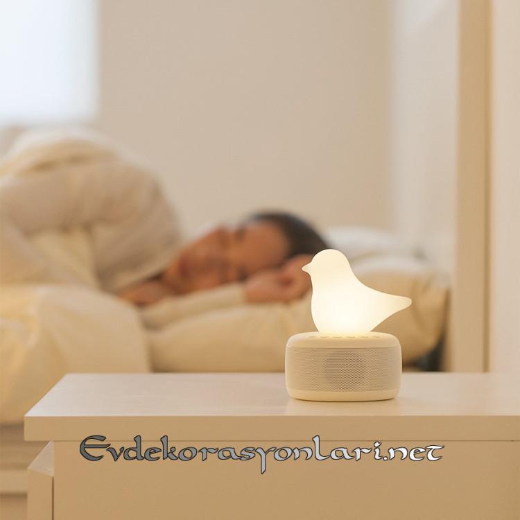 ledli dekoratif gece lambasi