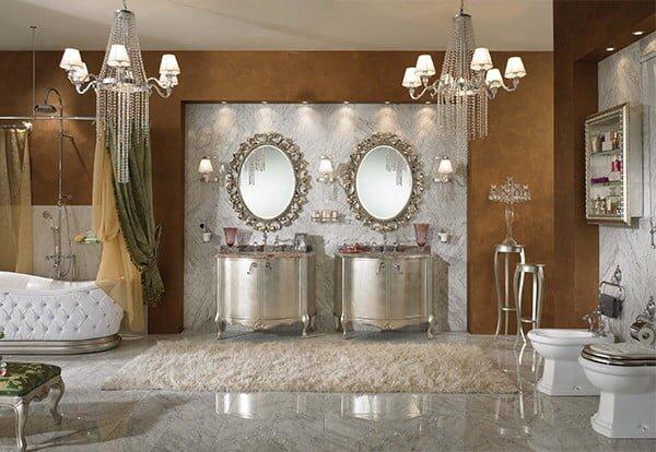 luks banyo dekorasyon modeli 2019