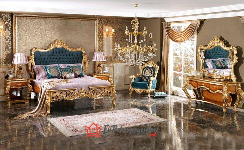 luks klasik yatak odasi takimi modeli 2019