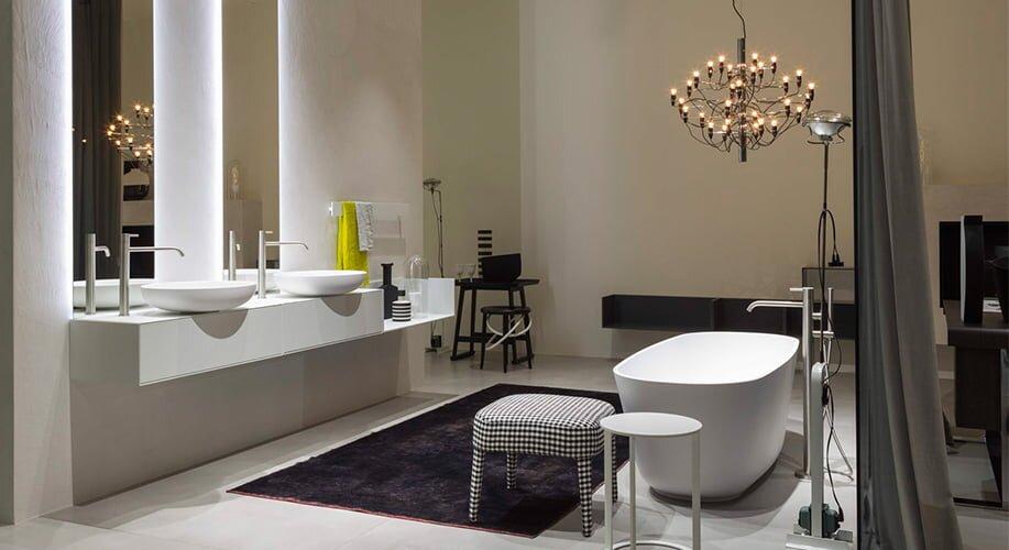 luks modern banyo dekorasyon modeli 2019