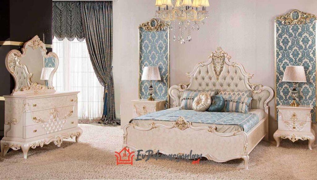 luks ve gosterisli yatak odasi takimi modelleri 2019