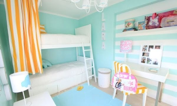 mavi çocuk odaları