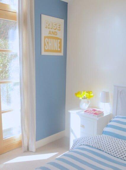 mavi yatak odaları