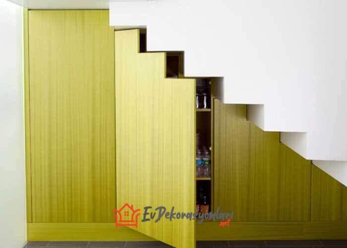 merdiven alti depolama alani dolap fikirleri 2019
