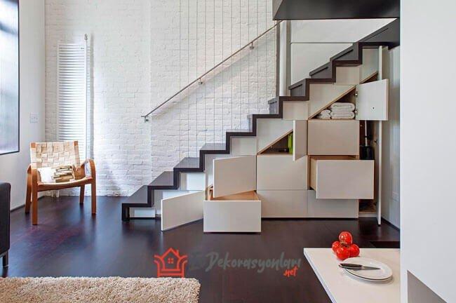 merdiven alti dolap depolama fikirleri 2019