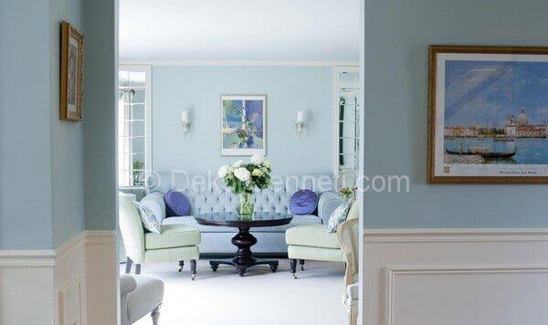 Moda buz beyazı duvar rengi Galeri