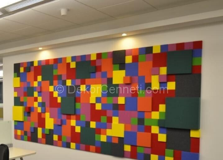 Moda dekoratif duvar panelleri tekzen Resimleri
