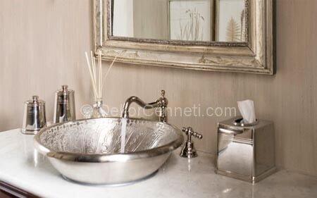 Moda gümüş ev aksesuarları Fotoları
