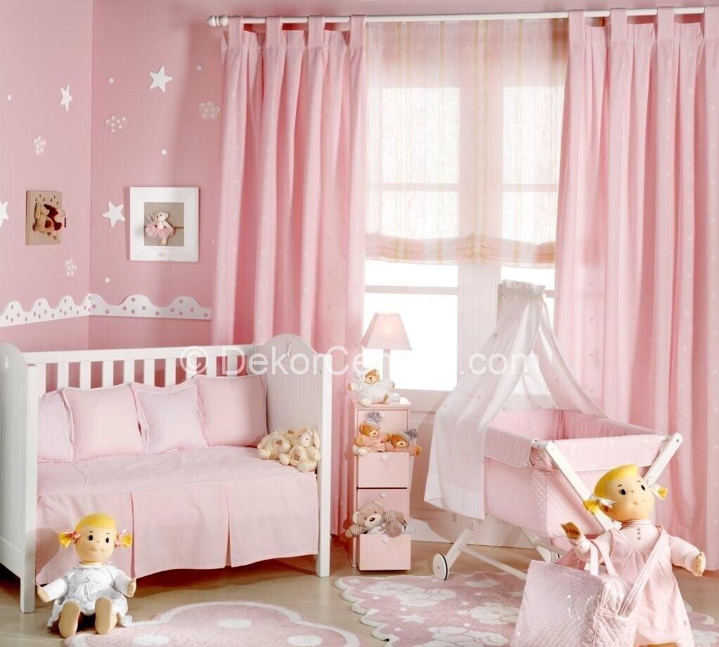 Moda kız çocuk odası perdesi Resimleri
