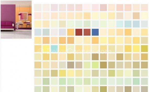Moda polisan iç cephe renk kataloğu 2011 Galeri