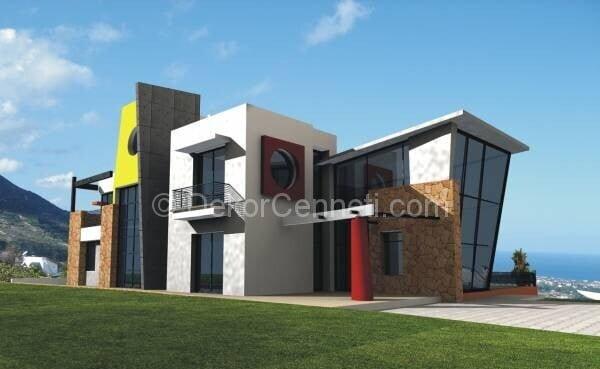 Moda villa mimari proje örnekleri Görselleri