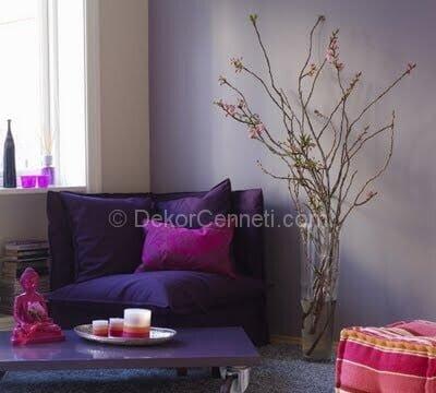 Moda yatak odası duvar renk Resimleri