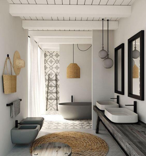 modern banyo dekorasyon modelleri