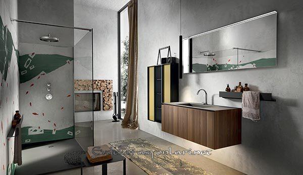 modern banyo dolap modelleri