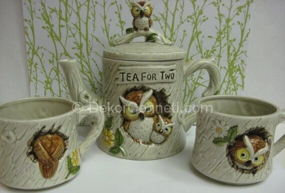 modern çay seti