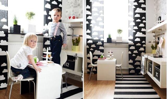 modern çocuk odaları dekorasyonu