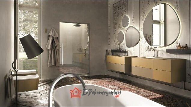 modern italyan banyo dolap modelleri