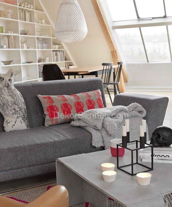 modern salon dekorasyonunda renk önerileri