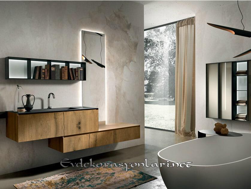 modern tarz banyo dolap modelleri 2019