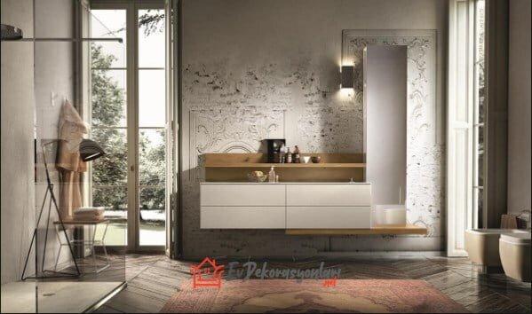 modern tarz italyan banyo dolap modelleri 2019