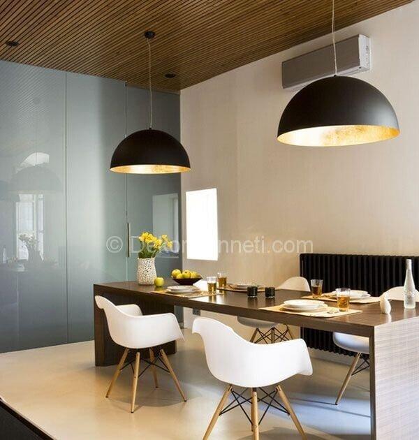 modern yemek odası dekorasyon fikirleri