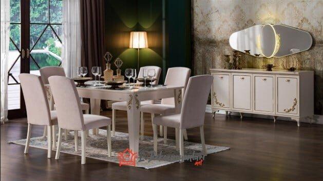 mondi mobilya astoria yemek odasi takimi modeli
