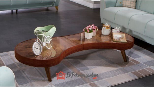 mondi mobilya wood dekoratif orta sehpa modeli