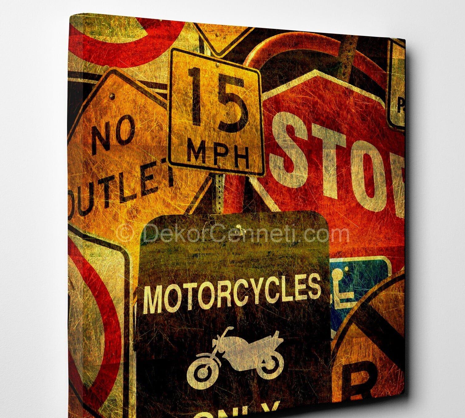 motorcycles-vintage-canvas-tablo