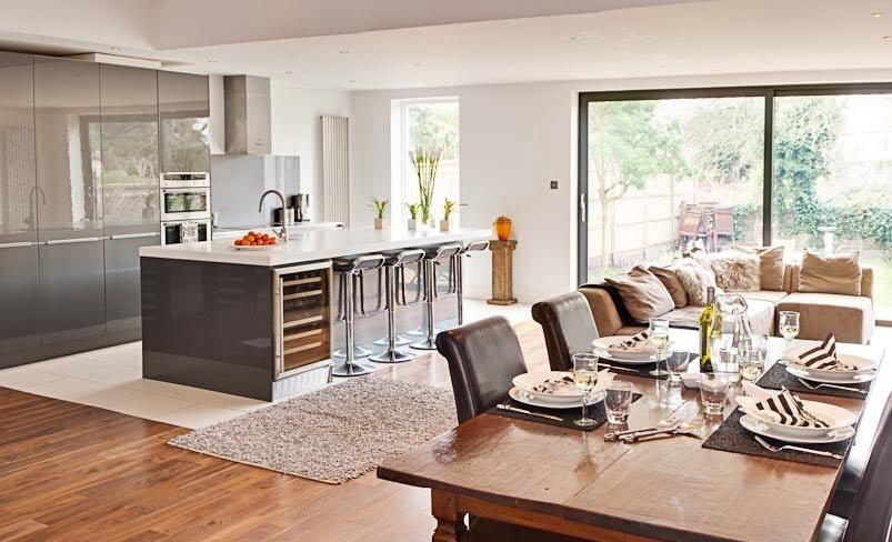 muhteşem açık mutfaklar