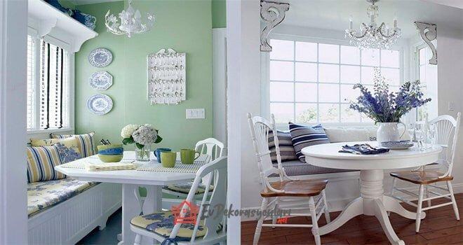mutfak dinlenme kosesi dekorasyon fikirleri
