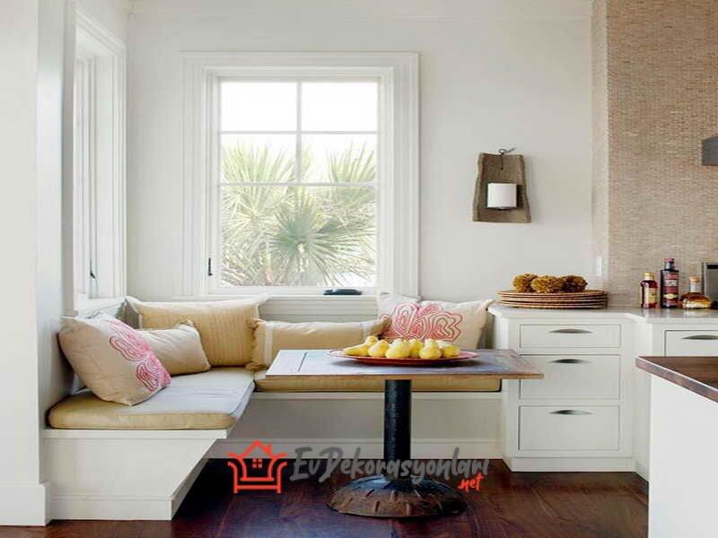 mutfak dinlenme kosesi dekorasyon ornekleri