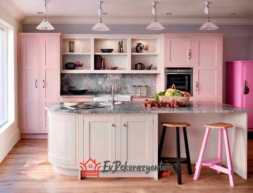Mutfak Dolabı Renkleri Nasıl Seçilmeli?