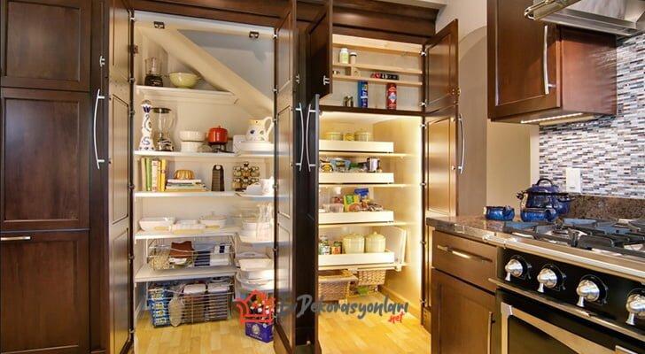 mutfak kiler dolap modelleri 2019
