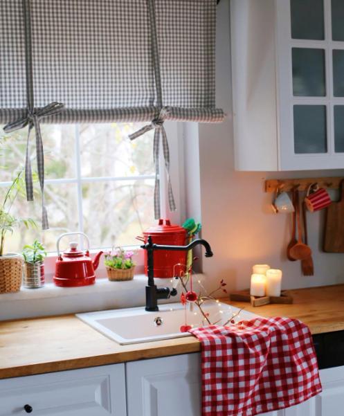 Mutfak Perdesi İçin En Güzel Fikirler