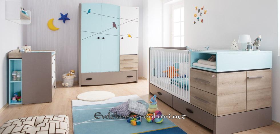 newjoy mobilya blue birdy bebek odasi takimi modelleri 2019