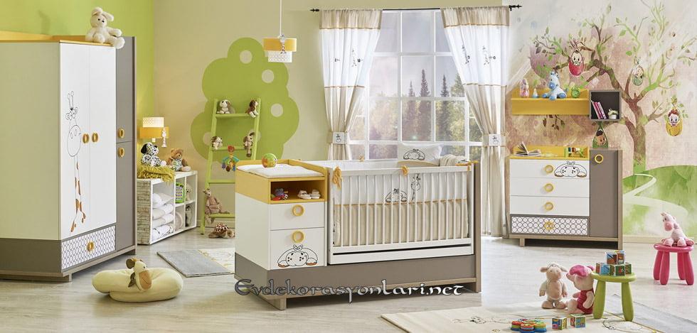 newjoy mobilya zuzo bebek odasi modeli 2019