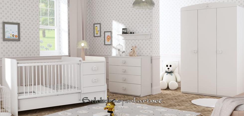 2019 Zarif Ve Kullanışlı Newjoy Bebek Odası Modelleri