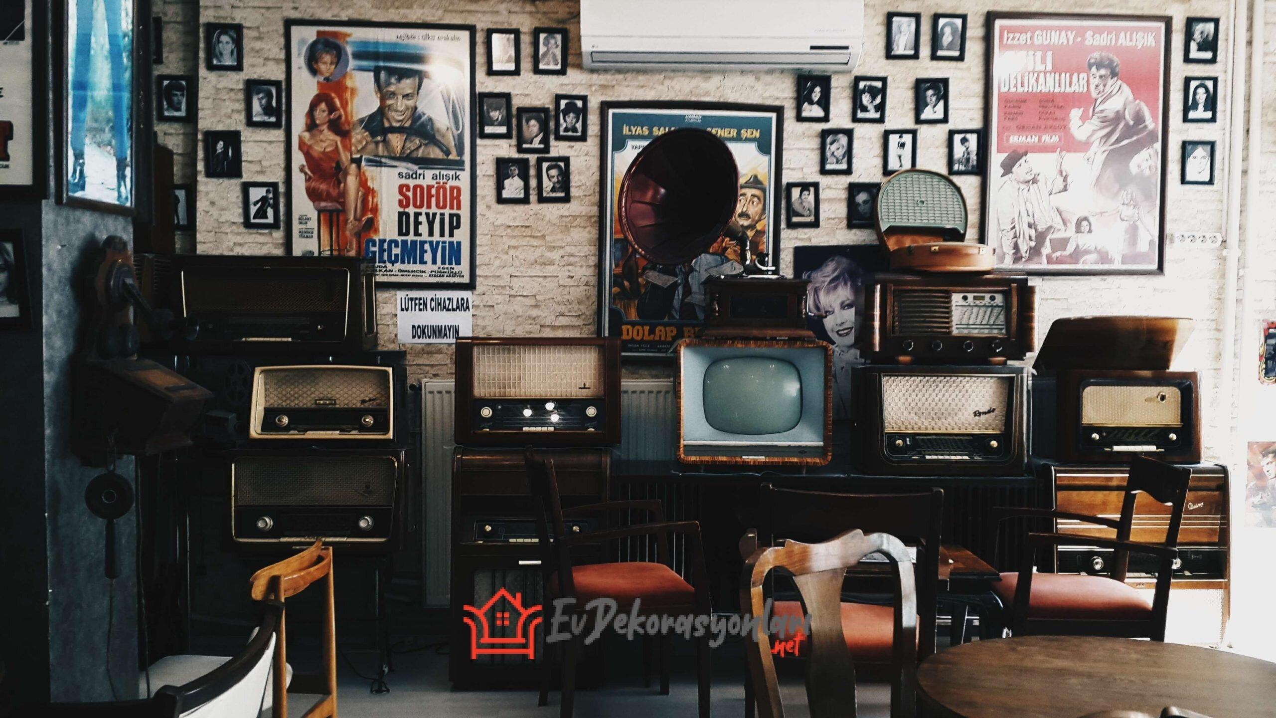 Nostaljik Salon Dekorasyonu Fikirleri
