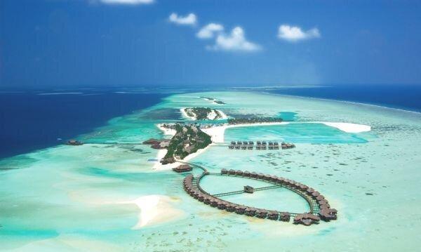 OLHUVELI maldivler resort otel