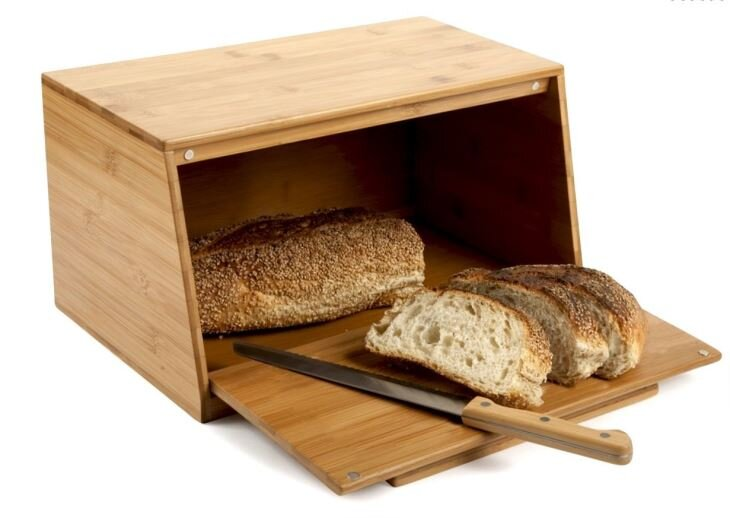 organik bambu kesme tahtali ekmek kutusu modeli 2019