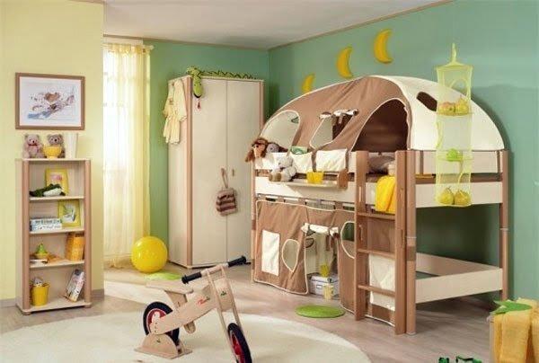 oyunlanlı çocuk odaları
