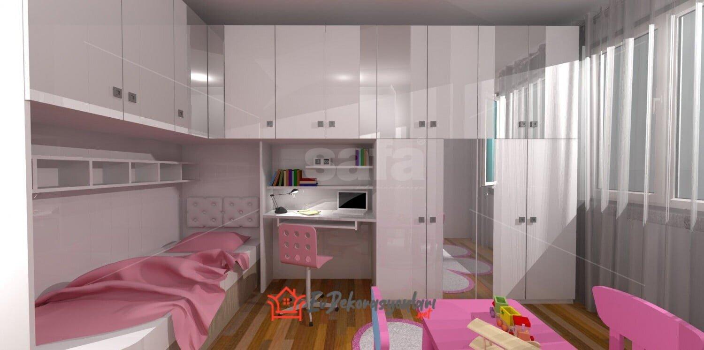 Özel Tasarım Genç Odası