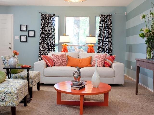 pantone living coral rengi ile dekorasyon fikirleri