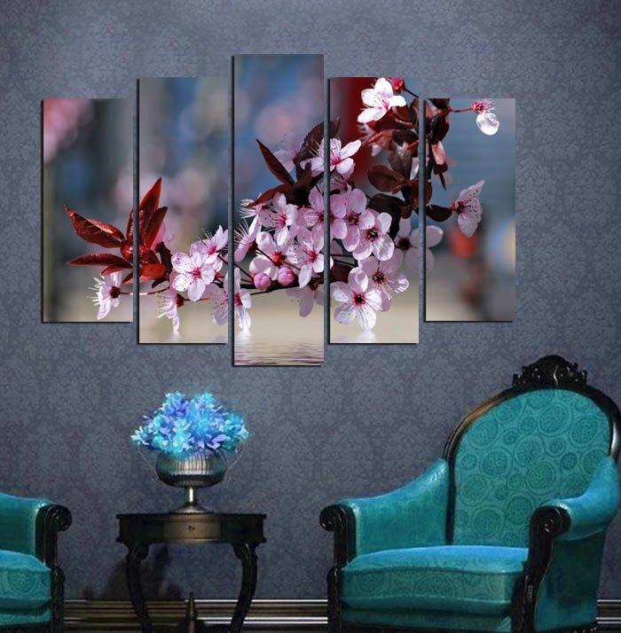 parcali dekoratif kanvas tablo modelleri
