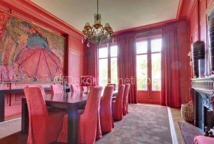 pembe yemek odası sandalyeleri