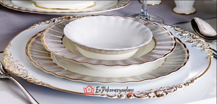 pierre cardin catelyn porselen yemek takimi modeli